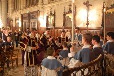 Prière avant l'entrée dans les fonts baptismaux