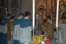Bénédiction du diacre avant le chant de l'évangile