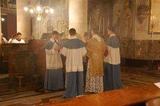 Chant de l'évangile